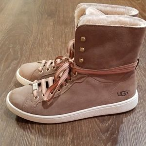 Womens Ugg Starlyn High Top Sneaker Size 8.5